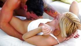 Fantastic diaper lover pair has pleasing lascivious sex