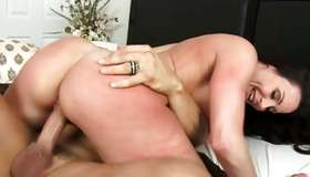 Breathtaking girlie is screaming from nice fucking
